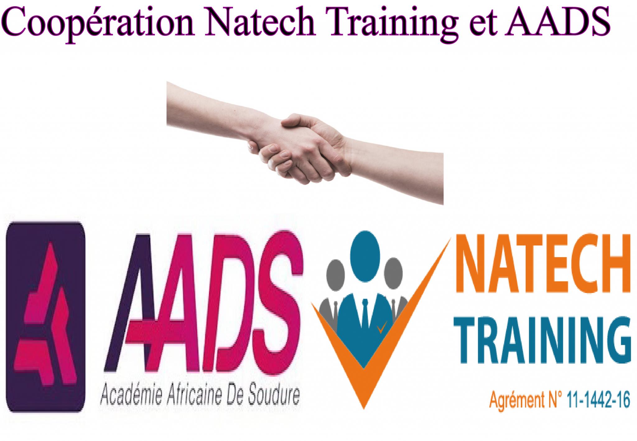 Coopération Natech Training et AADS (Académie Africaine De soudure)