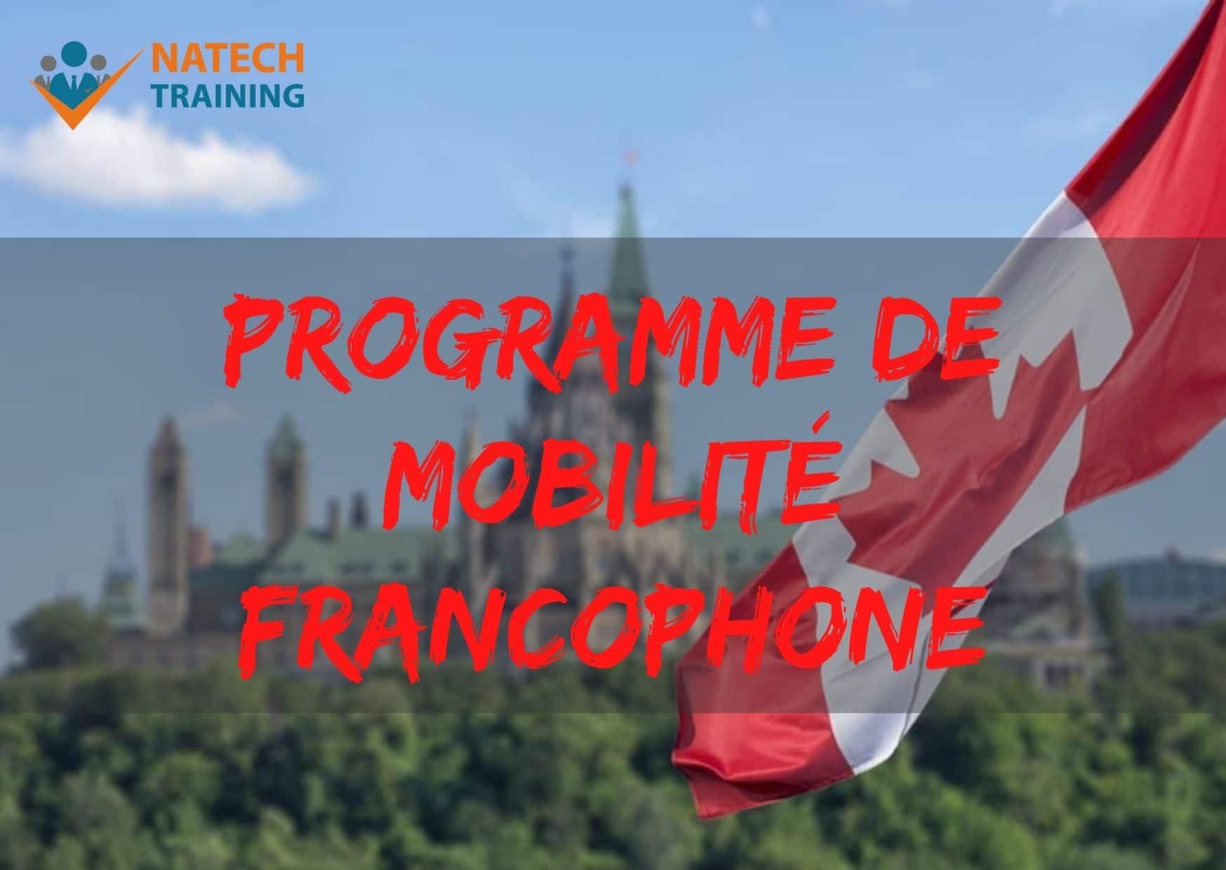 Le programme de mobilité francophone pour immigrer au Canada
