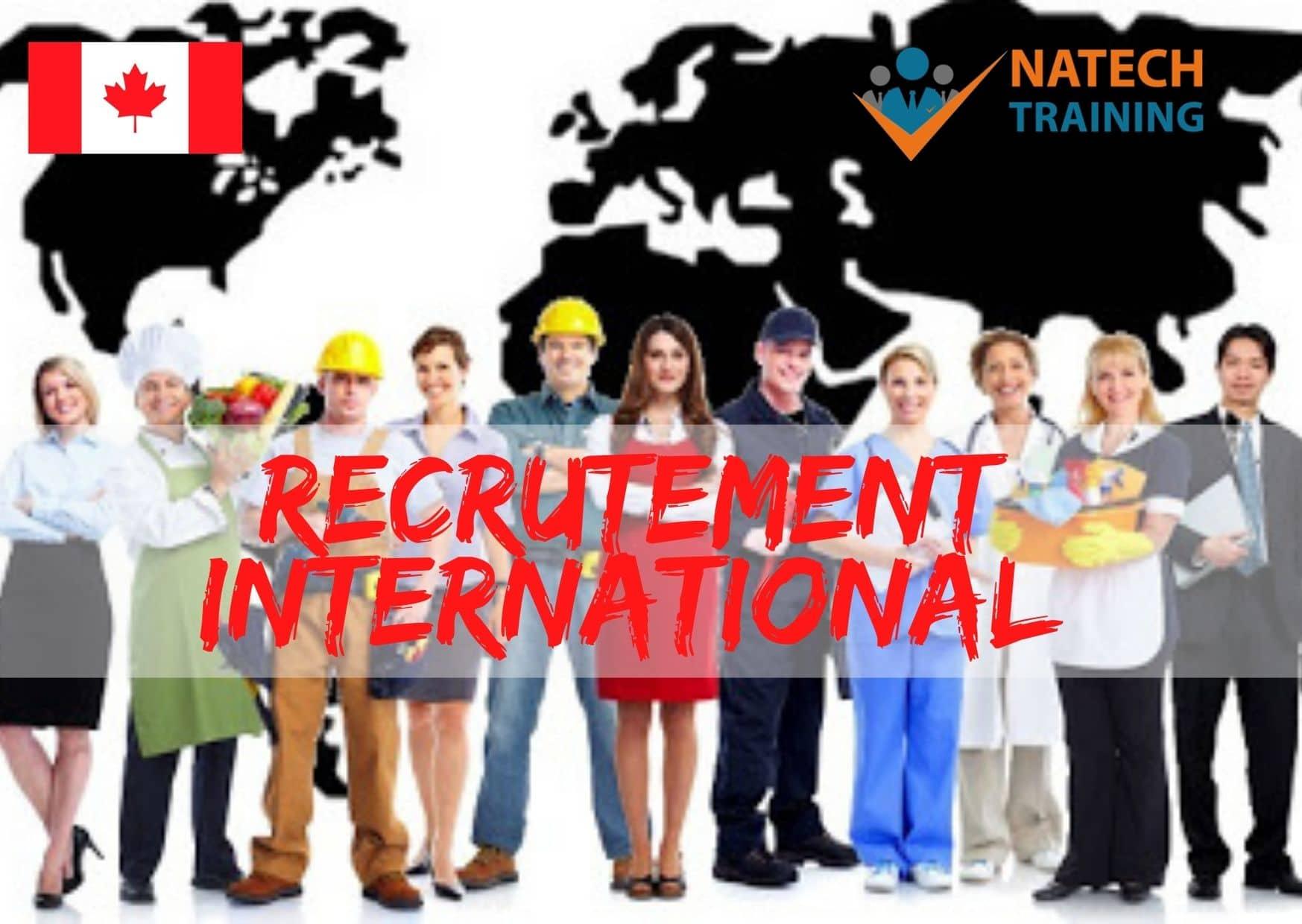 Le role de Natech training dans le recrutement international