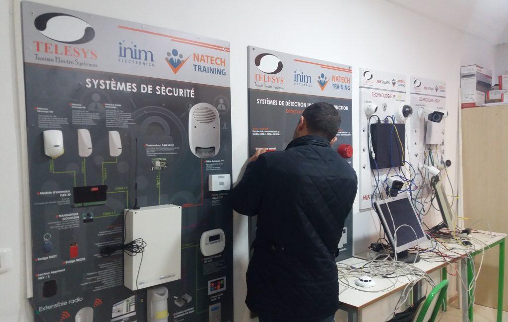 sécurité électronique (2)-formation système d'alarme, vidéosurveillance, incendie